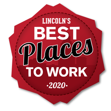 Best Places to Work in Lincoln logo