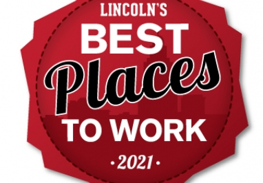 2021 Best Places to Work in Lincoln logo