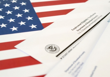 Employment Eligibility Verification Form I-9