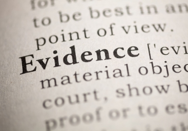 The word Evidence