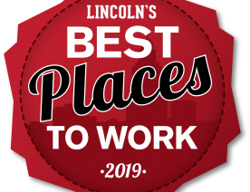 2019 Best Places to Work in Lincoln Logo